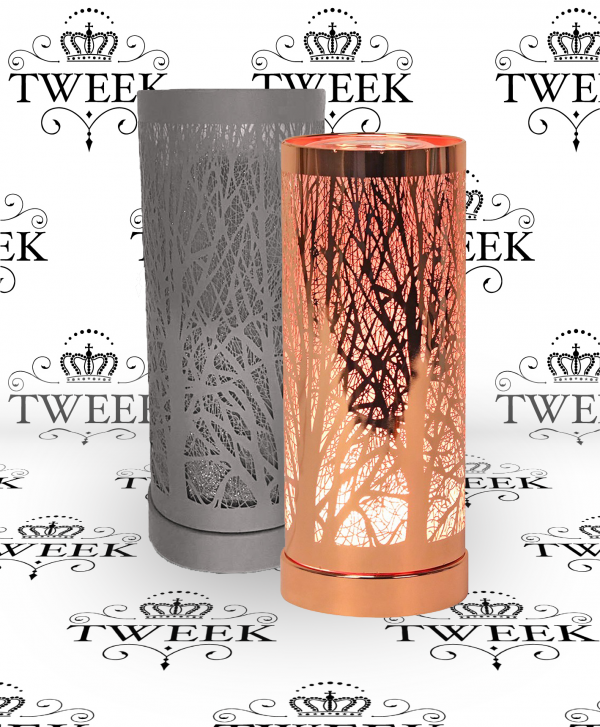 Colour Changing Tree Silhouette Aroma Lamp