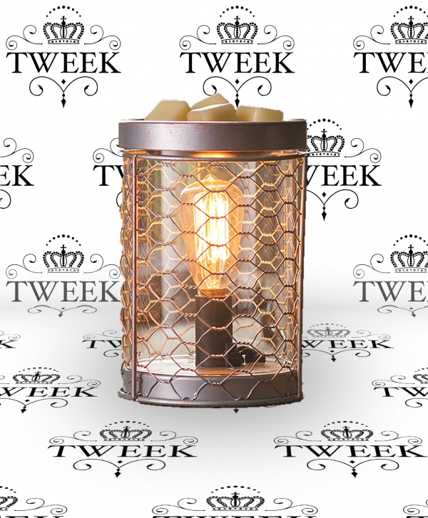 Retro Silver Electric Wax Melter